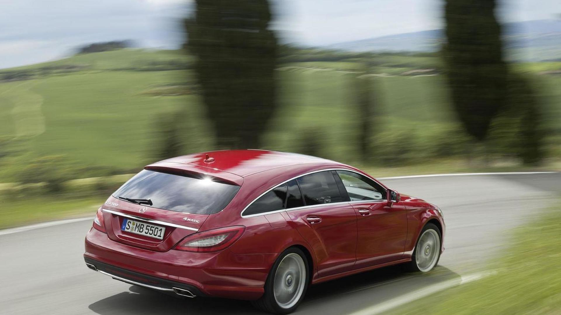 Mercedes CLS Shooting Brake officially unveiled