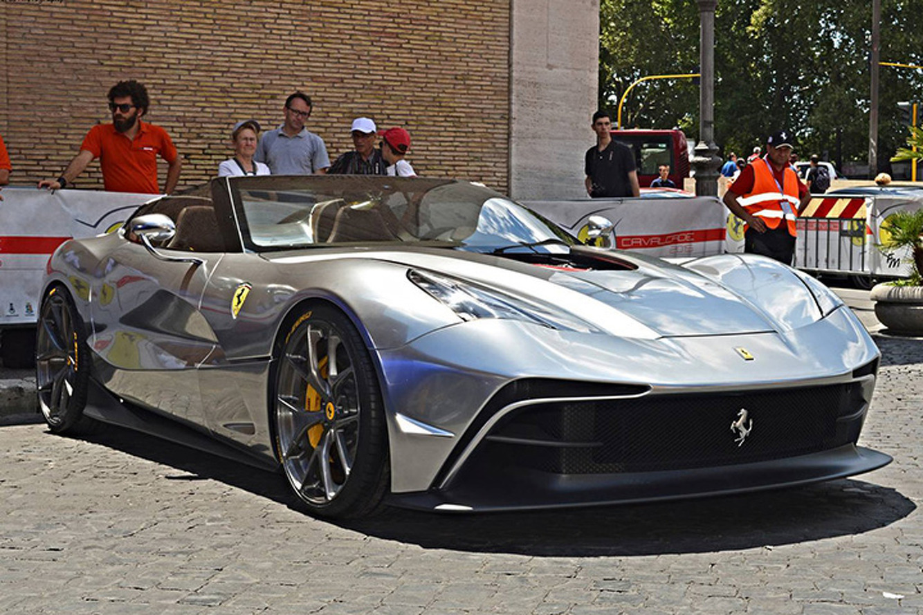 Ferrari Should Quit Teasing and Make a Production Run of the F12 TRS