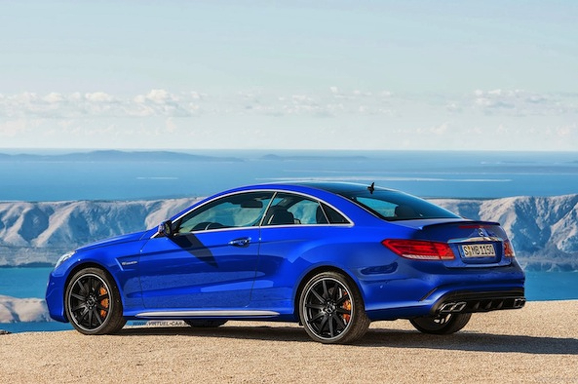 Mercedes E63 AMG Coupe Concept is all That and Then Some