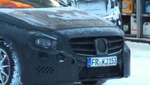 2013 Mercedes A-class spy video
