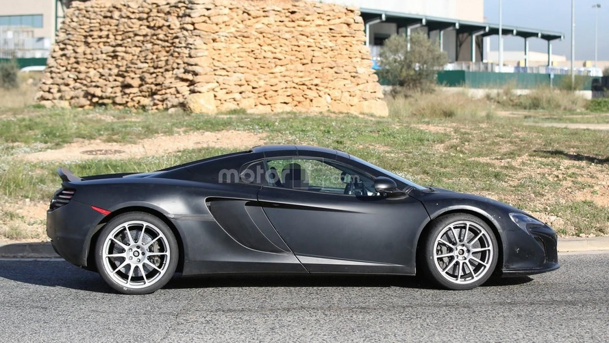 McLaren 675LT Spider returns in a new spy photo session