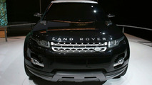 Land Rover LRX Hybrid Concept at New York