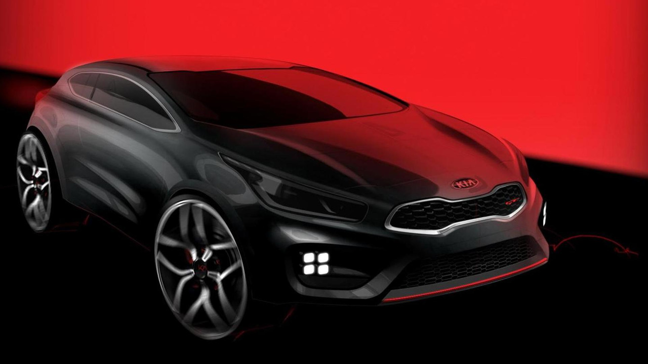 2013 Kia pro_cee'd GT teaser photo