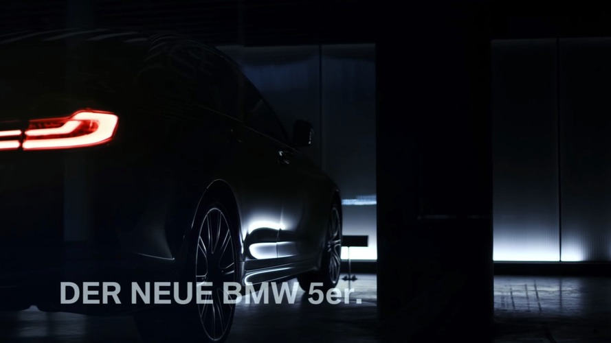 BMW drops video teaser of all-new 2017 5 Series