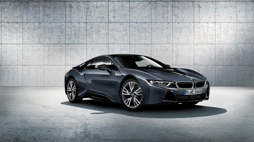 Limited-run BMW i8 Protonic Dark Silver Edition to debut in Paris