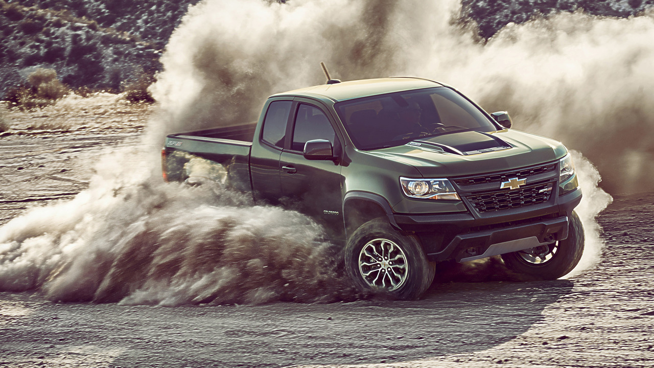 2017 Chevy Colorado ZR2 brings off-road prowess to the midsize truck ...
