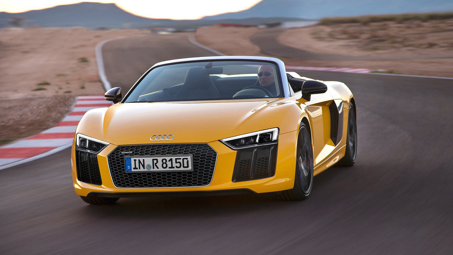2017 Audi R8 V10 Spyder priced at $175,100 in the U.S.