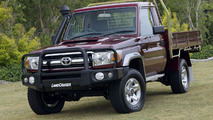 2007 Toyota LandCruiser 70 Series with genuine Bull Bar