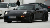 2011 Porsche 991 winter test spy photos - 26.01.2010