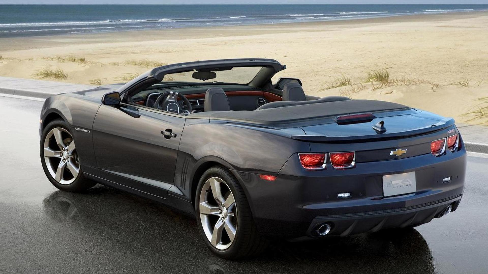 2011 Chevy Camaro Convertible will debut in LA