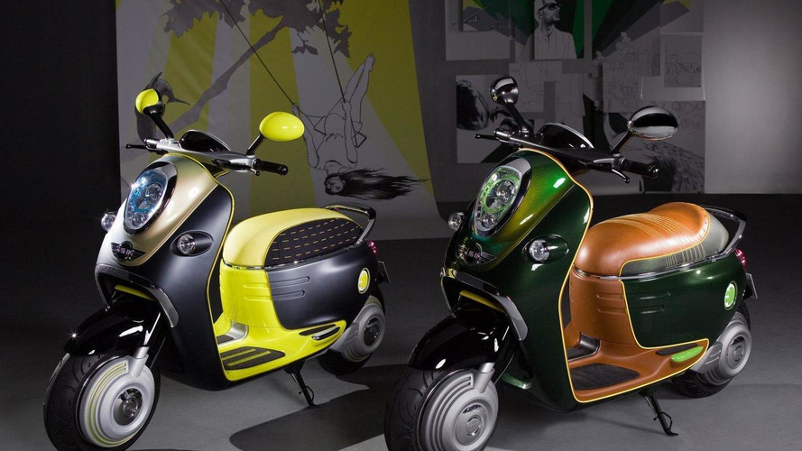 BMW unveils the MINI Scooter E Concept