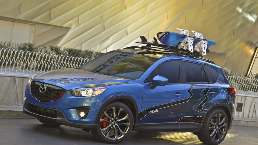 Three Mazda CX-5s unveiled at SEMA