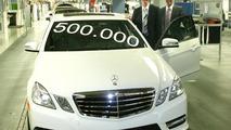 Mercedes-Benz produces 500,000th E-Class sedan (W212)