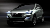 2013 Hyundai Santa Fe / ix45 official preview image 12.03.2012