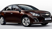 Chevrolet Cruze sedan/hatch facelift official images surface [video]