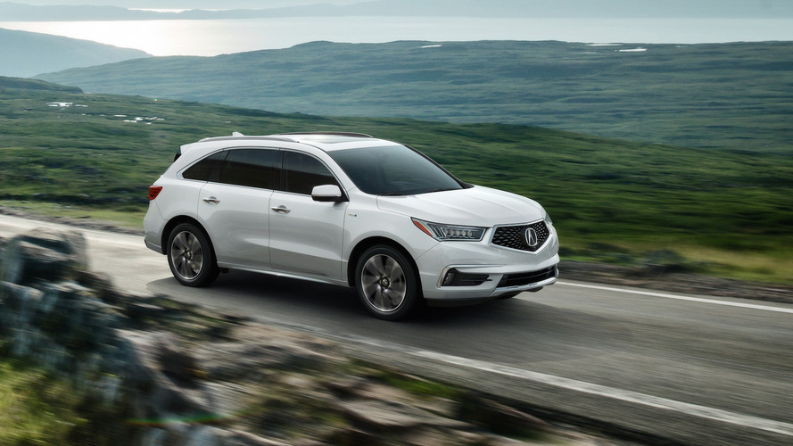 Acura MDX Sport Hybrid gets more power, better fuel economy
