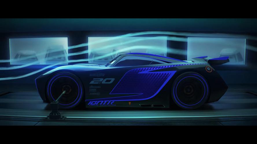 New Cars 3 trailer highlights Lightning McQueen's 850-hp rival Jackson Storm