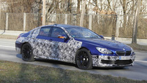 2013 BMW M6 GranCoupe first spy shots