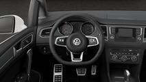 VW Golf Sportsvan R-Line detailed