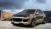 Porsche Cayenne Vantage Gold by TOPCAR