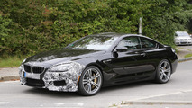 Facelifted BMW M6 Coupe spied hiding minor cosmetic tweaks