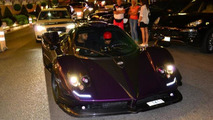 Lewis Hamilton spotted driving his one-off Pagani Zonda 760 LH in Monaco