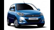 Hyundai divulga primeira imagem oficial do renovado i10 2011