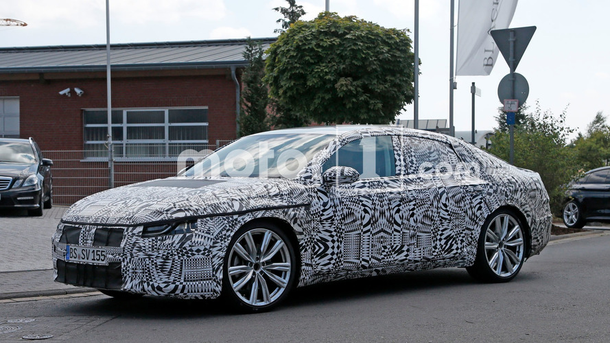 Next VW CC spied looking svelte in Germany