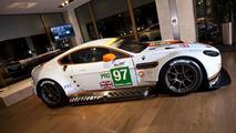 Aston Martin unveils an updated Vantage GTE, confirms plans to race at Le Mans
