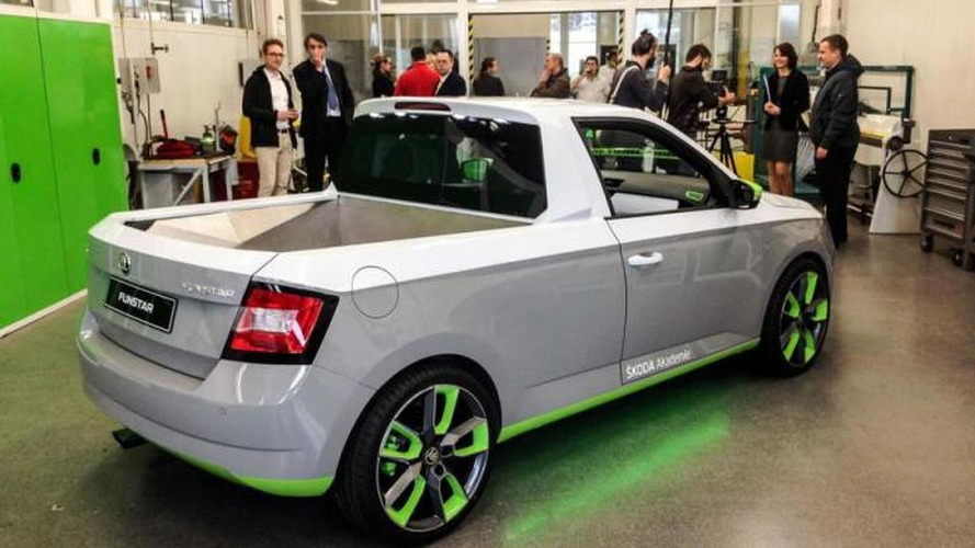 Skoda FUNstar is a Fabia pickup concept heading to Worthersee