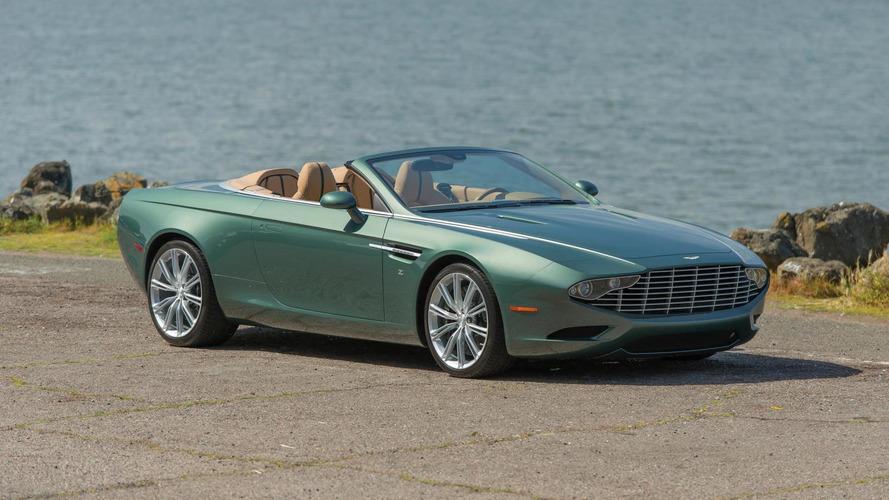 Aston Martin DB9 Spyder Zagato Centennial going up for auction