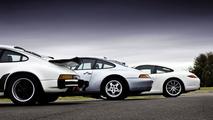 1986 911 G series, 1994 911 (Type 993) Carrera, 911 (Type 997) Carrera S
