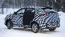 MG CS crossover spied winter testing in Scandinavia