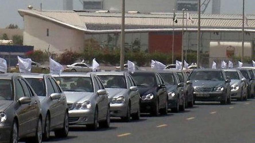 C-Class Convoy Sets Record
