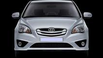 Hyundai Verna / Accent Facelift Revealed in Korea