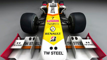 Renault R29 with TW Steel livery