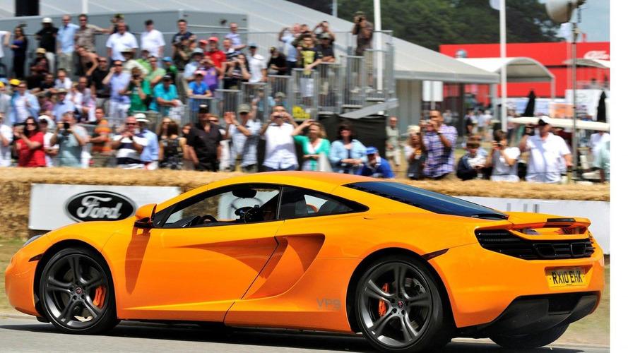 McLaren MP4-12C makes flying debut at Goodwood FOS 2010 [video]
