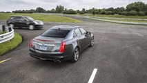 2015 Cadillac CTS prototype with vehicle-to-vehicle (V2V) communication technology