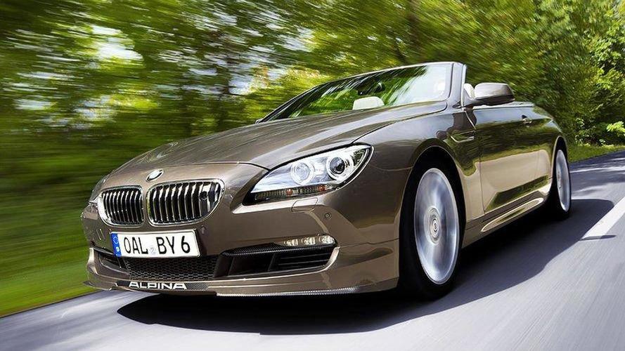 Alpina B6 Biturbo faster than M6 F13 - 208mph top speed [video]