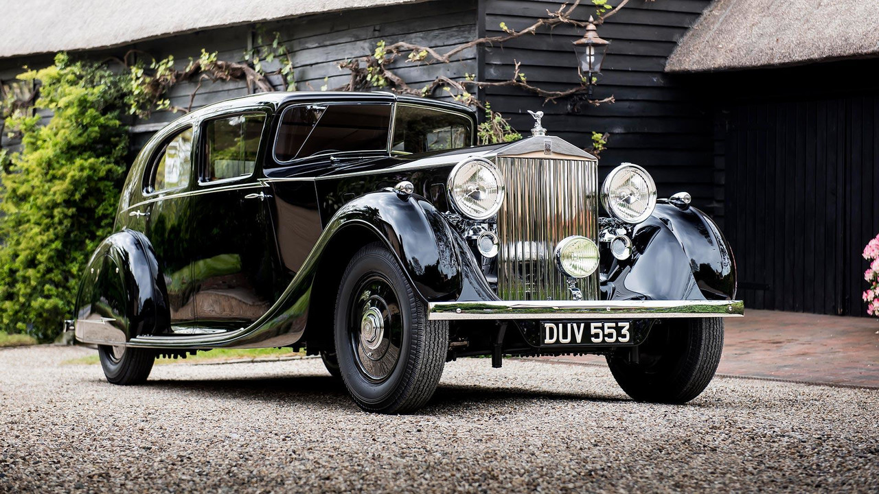 Unique 1936 rolls royce will pose at new generation 39 s premiere