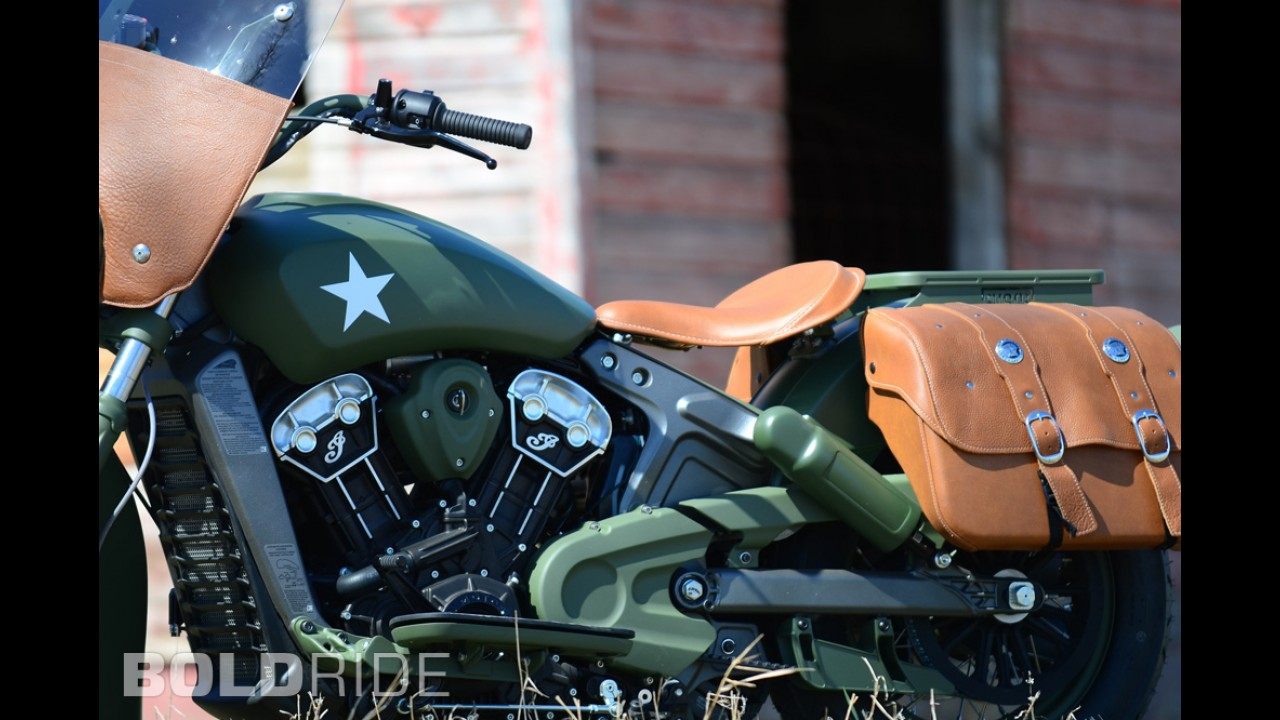 Indian Motorcycle Custom Military Scout