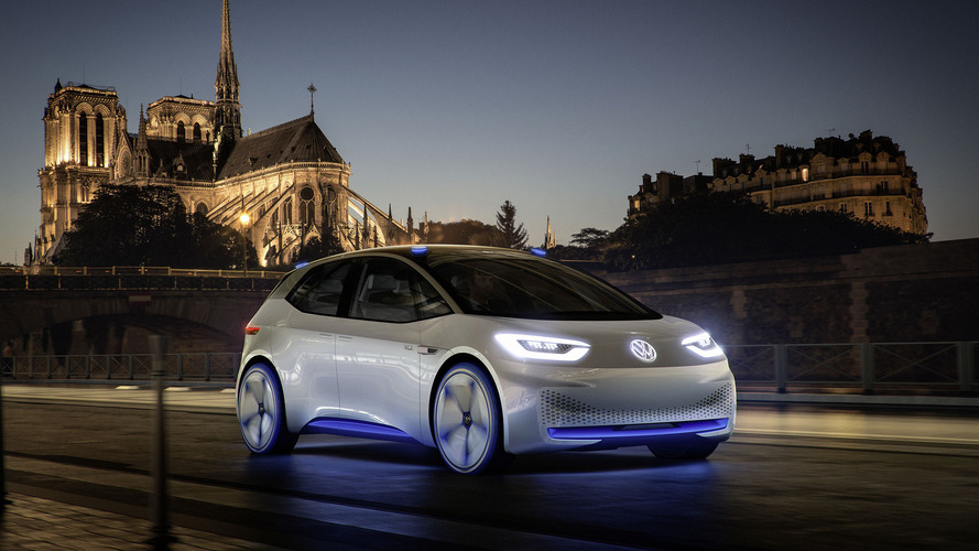 VW I.D concept points to the future, boasts 326-mile EV range