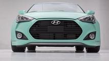 Hyundai JP Edition Veloster Concept introduced at SEMA [video]