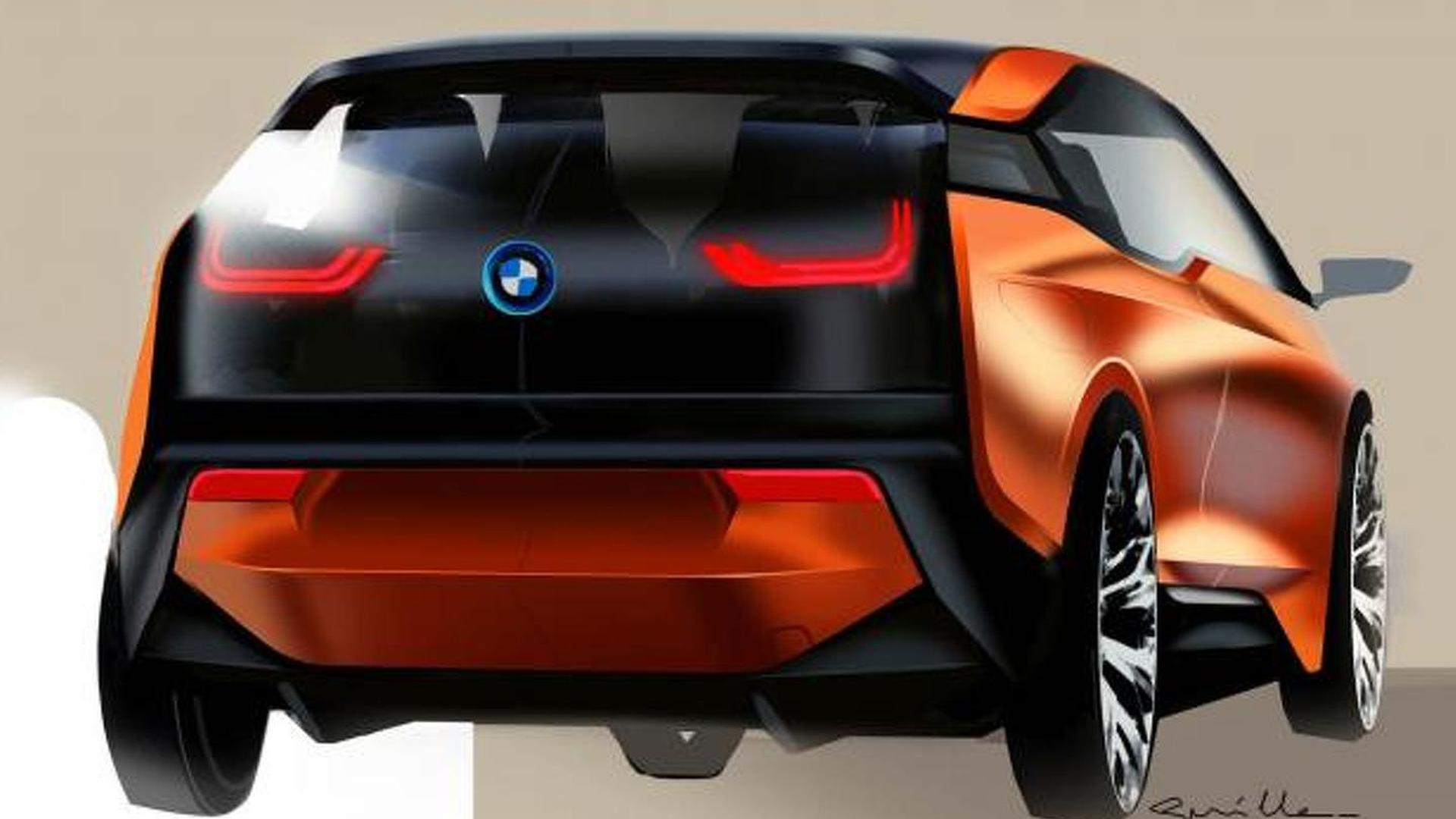 BMW i3 Coupe Concept video released