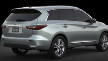 2014 Infiniti QX60 Hybrid announced for New York debut