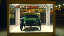 Iconic Ford Model T Displayed in the Design Museum Tank in London