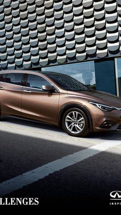 Infiniti drops new image of production Q30