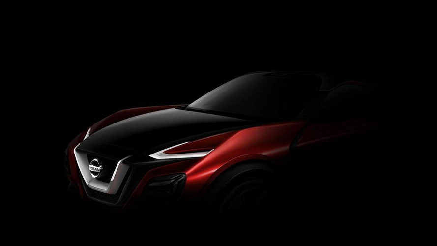 Nissan teases new crossover concept for Frankfurt
