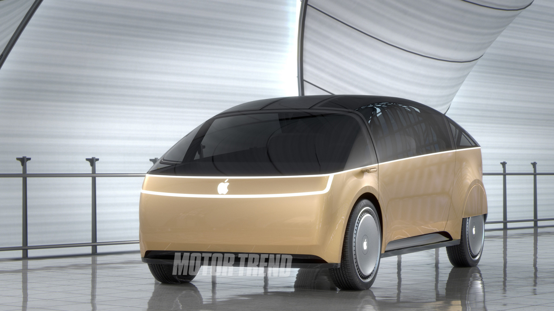 Motor Trend gets tired of waiting, designs the Apple Car itself
