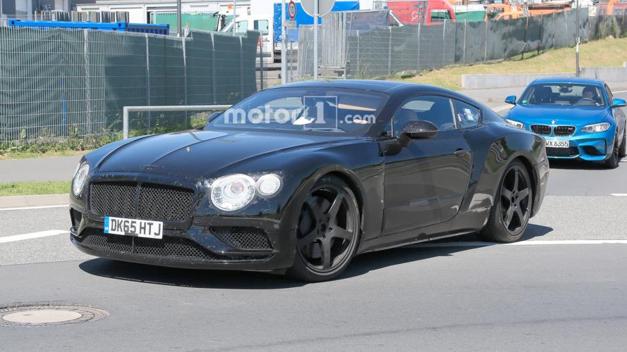 Bentley Continental GT Spy Photos at Nurburgring